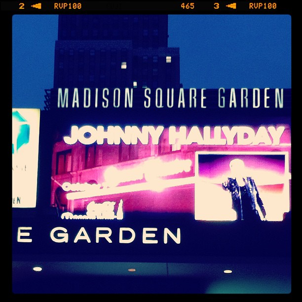 Incredibeule #MadisonSquareGarden #johnny #newyork