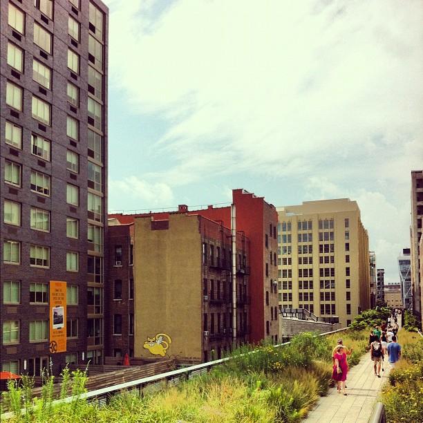 High Line #chelsea #newyork