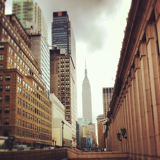 Perspective #newyork #nyc #EmpireStateBuilding