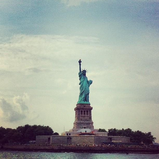 Miss Liberty #newyork
