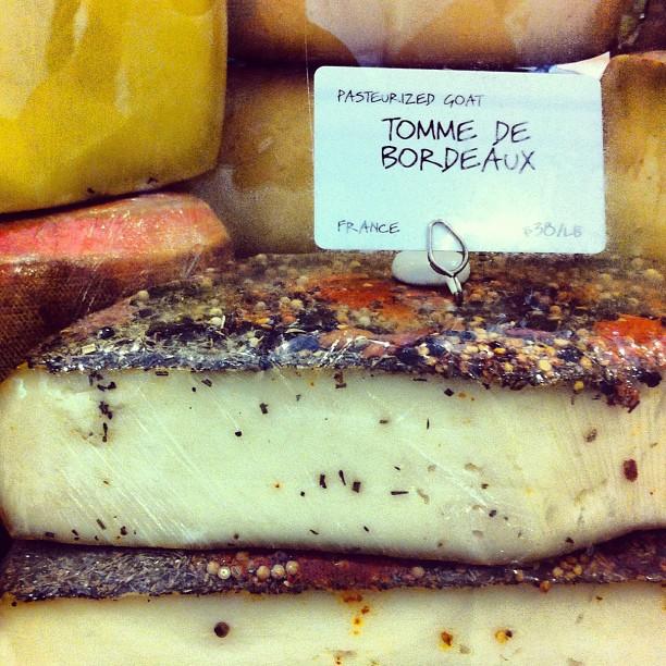 La Tomme de Bordeaux, tu connais ? Moi pas, je découvre chez Dean & Deluca #newyork