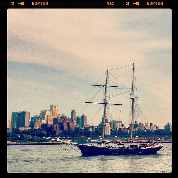 Vue sur Brooklyn depuis Wall Street #newyork