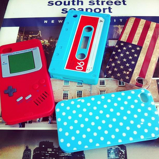 Avec miss P&P nous avons craqué pour les coques IPhone ;)
