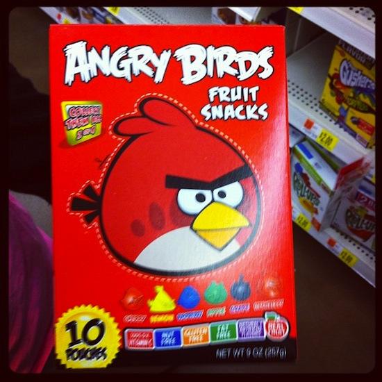 Céréales Angry birds