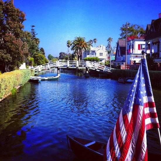 Encore les canaux, Venice Beach