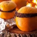 Gâteau au chocolat cuit dans une orange ©ChrisRochelle - Chow