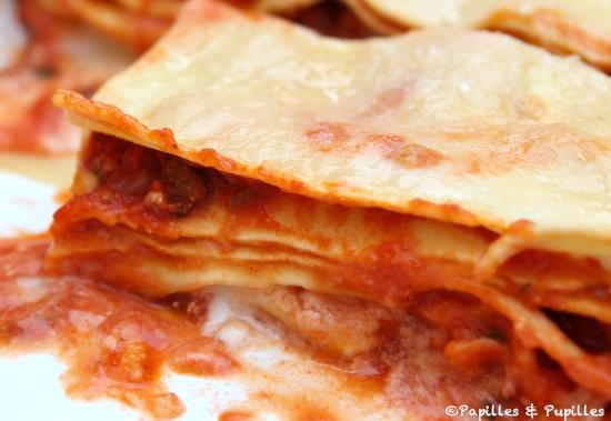 Recette De Lasagnes Lasagnes A La Bolognaise