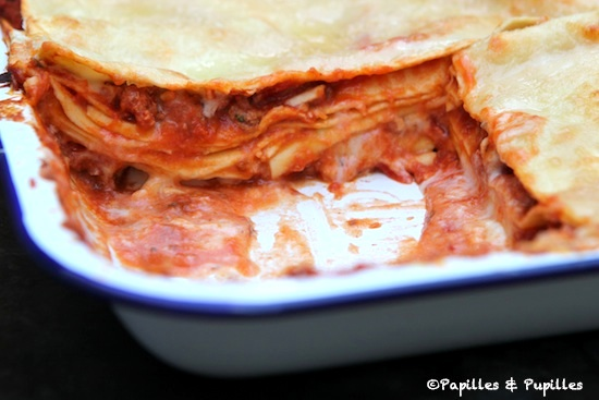 Lasagnes sauce Bolognaise