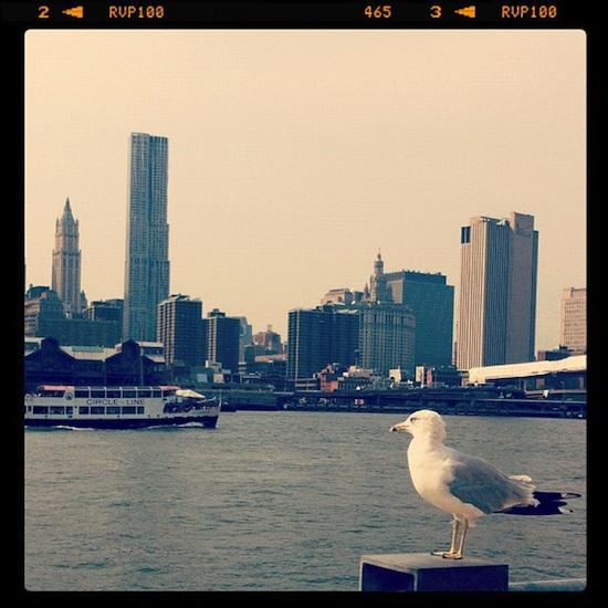 Manhattan, vu de Brooklyn - New York