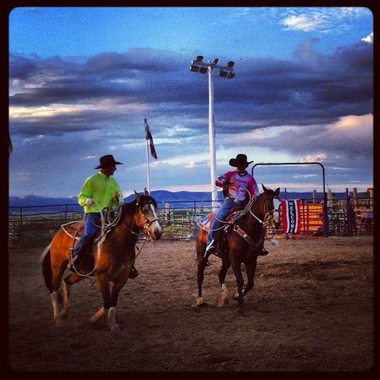 Rodeo et démo de lasso (Bryce)
