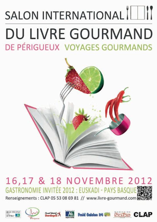 Salon international du livre gourmand de p rigueux - Salon du livre gourmand ...