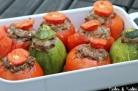 Tomates farcies (avec courgettes)