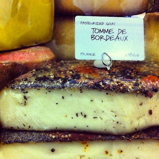 Tomme de Bordeaux, Dean & Deluca