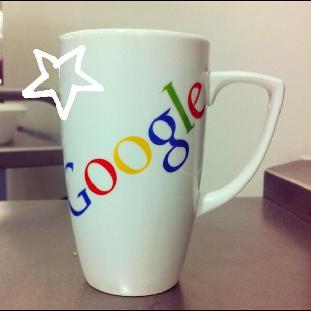 Google mug - j'en veux