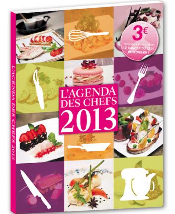 12 chefs contre le Cancer du Sein - L'Agenda des Chefs 2013 - Octobre Rose