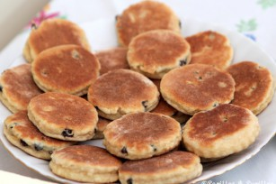 Assiette de Welsh cakes