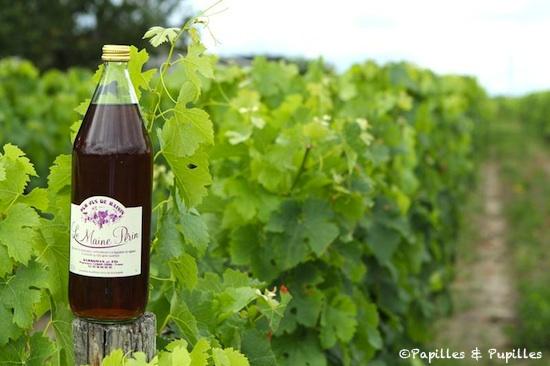 Jus de raisin Château le Maine Perin