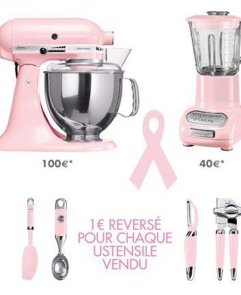 Kitchen Aid soutient la lutte contre le cancer du sein