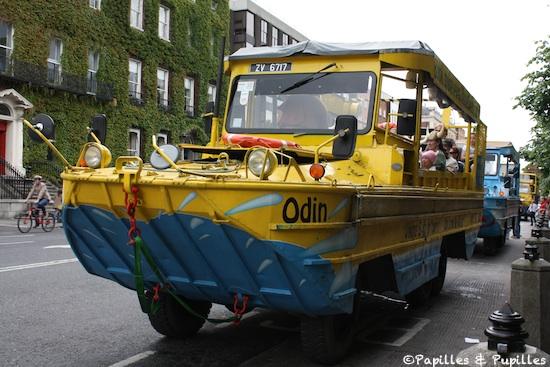 Véhicule amphibie du Viking Splash Tour - Dublin