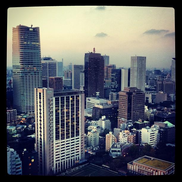 Tokyo vu d'en haut