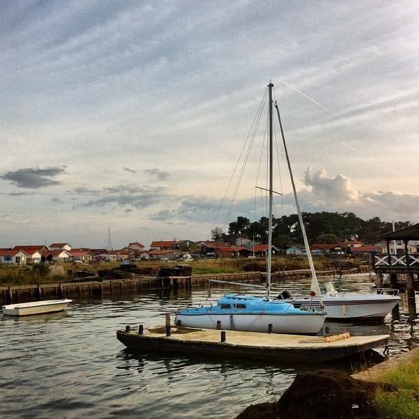 Cabanes de pêcheurs - Piraillan #capferret #bassinDArcachon