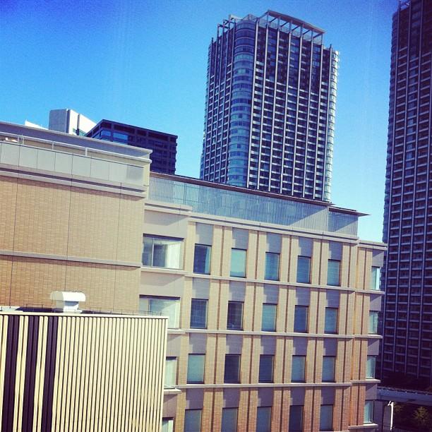 Et toujours un grand ciel bleu sur Tokyo #minuteMeteo