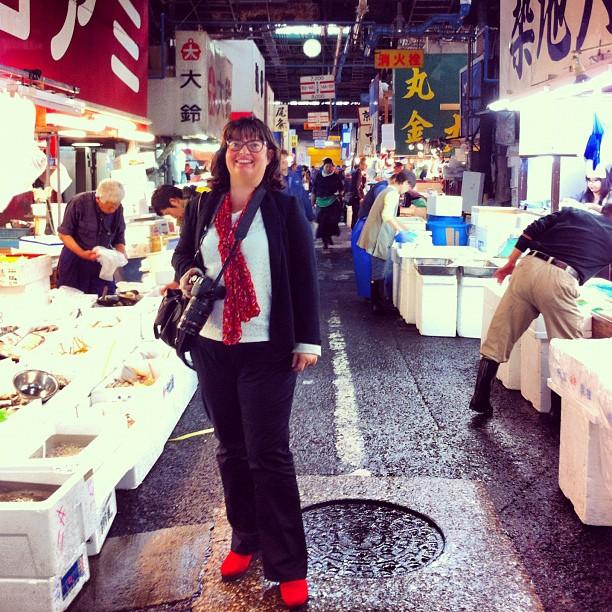 Tsukiji - Marché aux poissons de Tokyo