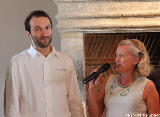 Cédric Béchade et Sophie Schÿler