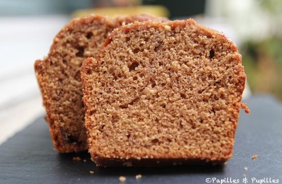 Cake aux Carambar - Coupe