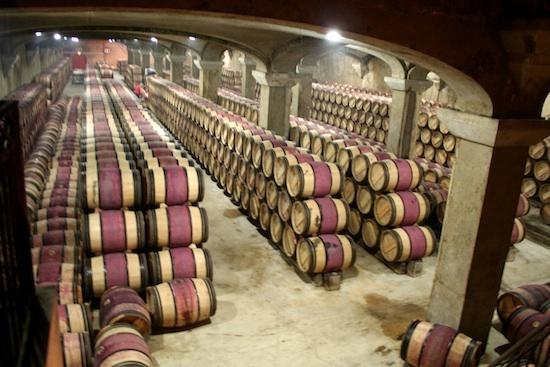 Chai enterré Château Margaux ©MeganMallen CC BY 2.0