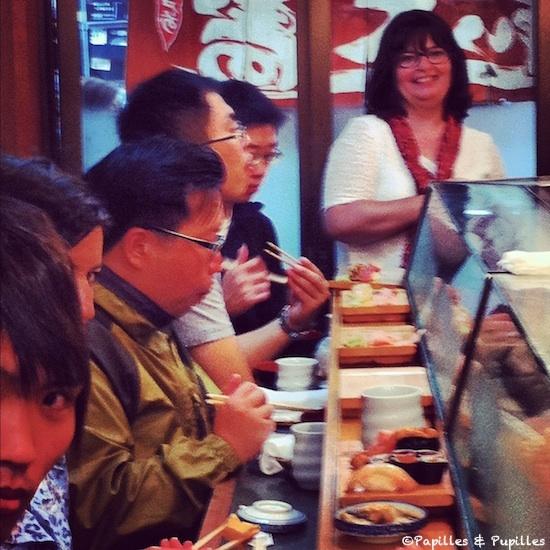 Chez Daiwa, Marché aux poissons de Tsukiji - Tokyo