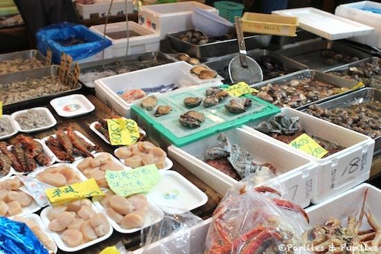 Etals - Marché de Tsukiji