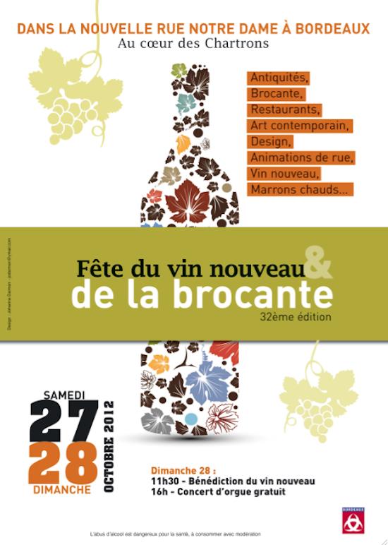 Fête du vin nouveau et de la brocante 2012 - Bordeaux