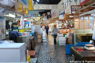 Marché aux poissons de Tsukiji, Tokyo, Japon