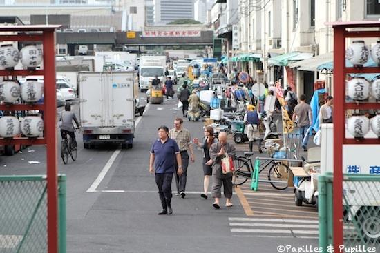 Marché aux poissons de Tsukiji - Tokyo