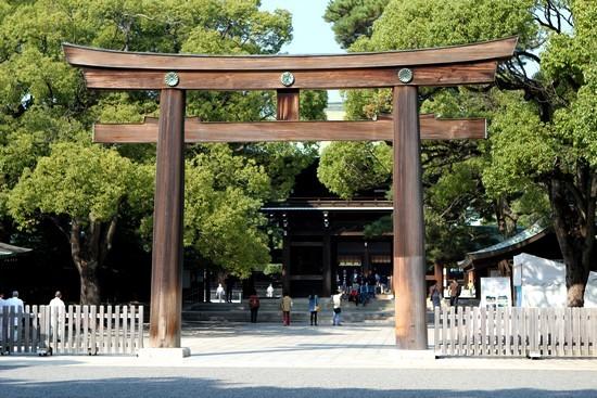 Porte - parc Meiji