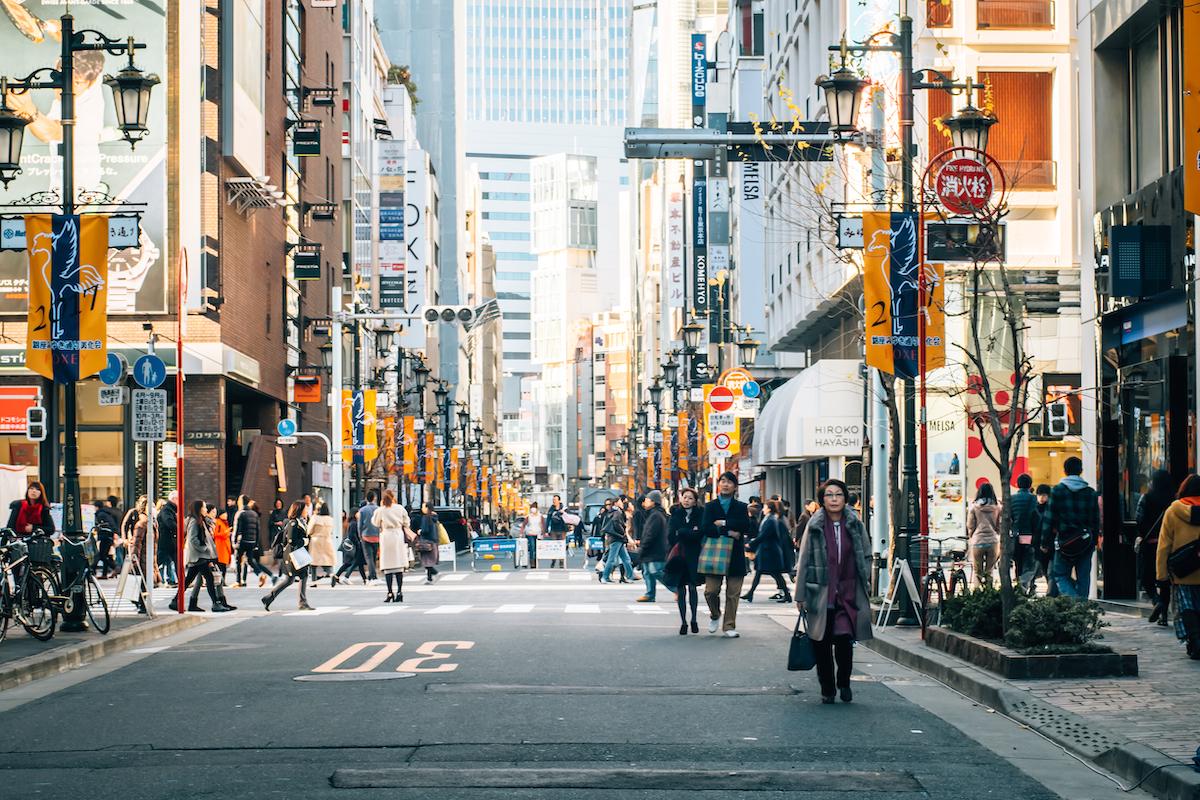 Rue de Tokyo © MMpai shutterstock