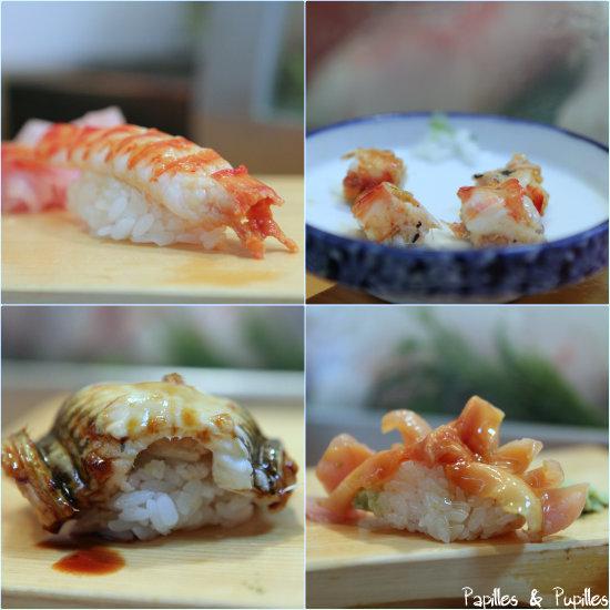 Sushis - Chez Daiwa