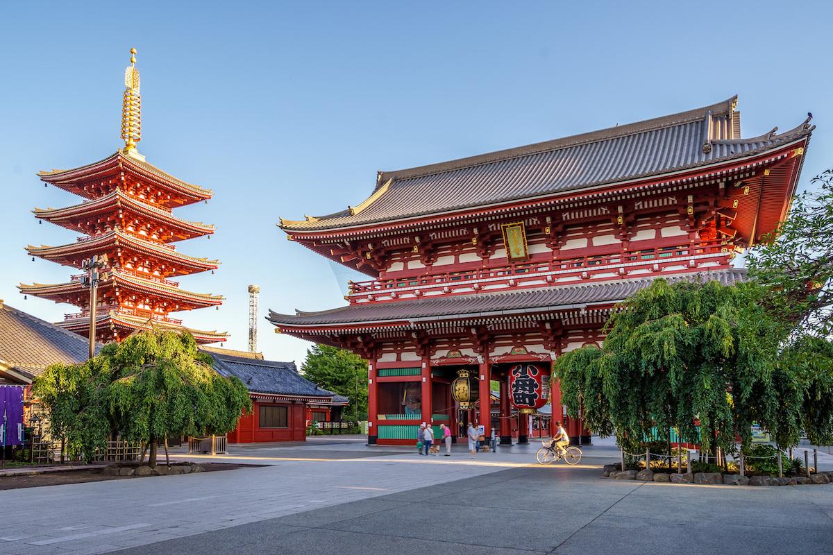 Temple Senjo Ji ©Richie Chan. shutterstock