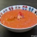 Velouté de tomates et poivrons rôtis