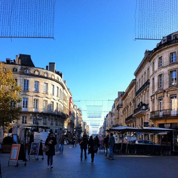 Bordeaux cours de l intendance papilles et pupilles for Appartement bordeaux cours de l intendance