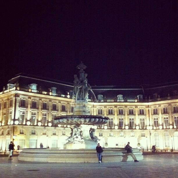 Place de la Bourse #bordeaux