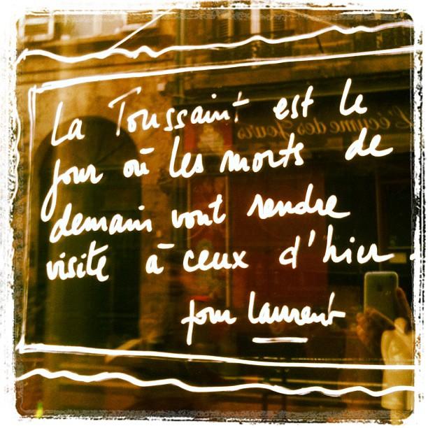 Rue Notre Dame, Bordeaux. #Toussaint