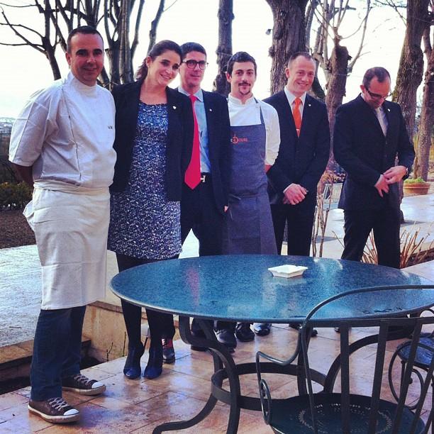 Marie Borgel, Nicolas Magie et son équipe #saintjames #bordeaux