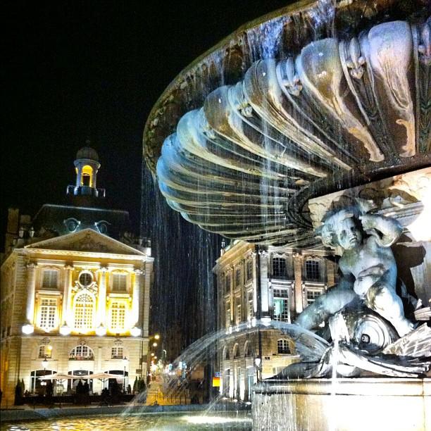 Place de la Bourse #bordeaux - the most beautiful place in the world ;) #igersgironde