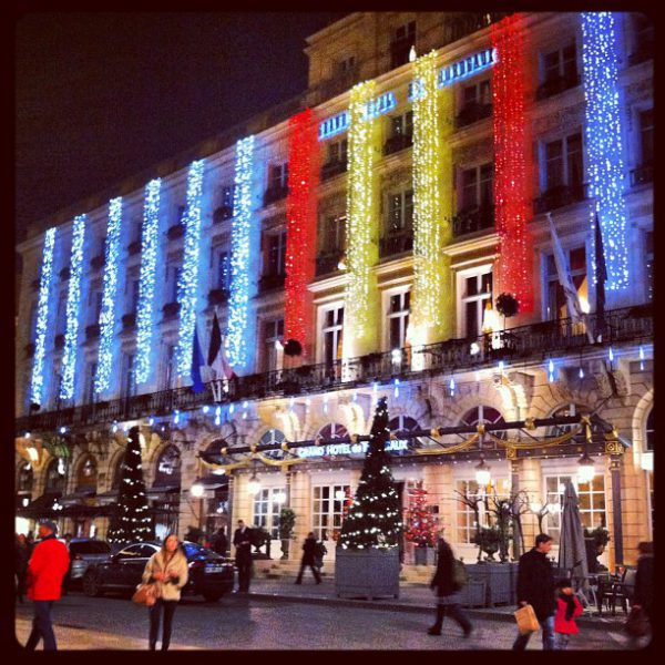 Décoration de Noël - Grand Hôtel de Bordeaux