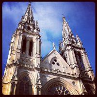 Bordeaux, France - Notre Dame Street