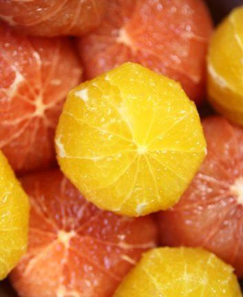 Agrumes pelés à vif ©jbgorganic.com