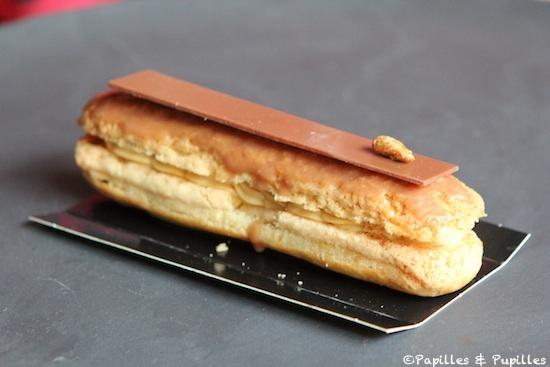 Antoine - Eclair dulcey (choco et confiture de lait)