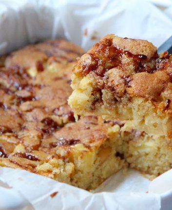 Brownies aux pommes et aux noix de Macadamia